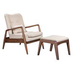 Corrigan Studio® Marlowe Lounge Chair and Ottoman
