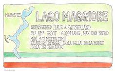 Lago Maggiore #illustratie #artjournal #watercolour #vakantie #italie