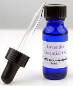 """Lavender Pure Essential Oil 1/2 oz $7.29     There's just something about lavender….  Steam distilled and 100% pure from the cultivar """"Grosso"""" Many uses listed on packaging. Wonderful, heavenly full bodied aroma. Lavandula angustifolia."""