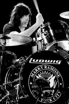 Marky Ramone. One of the best drummers ever.
