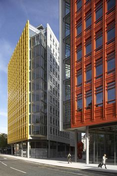 Central St. Giles Court / Renzo Piano & Fletcher Priest Architects - facade