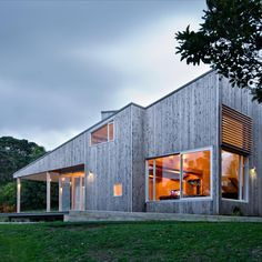 Family Home with Sustainably Harvested Lawson's Cypress Cladding