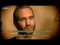 História de Nick Vujicic (legendado em português)