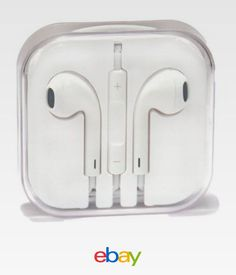213 best tech gadgets images on pinterest electronics gadgets a new pair of apple earphones with original aux jack remote control mic for iphone fandeluxe Choice Image