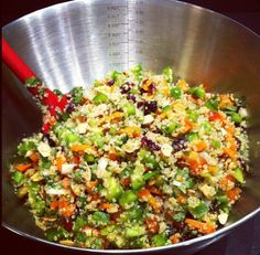Cranberry Cilantro Lime Quinoa Salad: Healthy Quinoa Recipes |