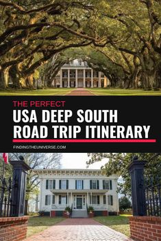 The Perfect USA Deep South Road Trip Itinerary Finding the Universe : The USA is the perfect country for road tripping in, and we've already done a number of road trips here, including iconic Route the Pacific Coast Highway, and the Oregon Trail. Route 66 Road Trip, Us Road Trip, Family Road Trips, Road Trip Hacks, Pacific Coast Highway, West Coast Road Trip, Oregon Trail, New Orleans, Places To Travel