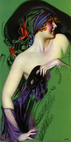 Rolf Armstrong 1920s