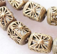 Hey, I found this really awesome Etsy listing at https://www.etsy.com/listing/208990389/5-african-brass-beads-tribal-beads