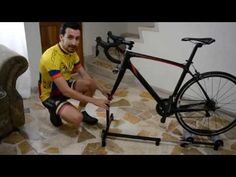 Bicycle Cart, Bike Trainer, Cycling Gear, Trainers, Sports, Youtube, Hacks, Ideas, Training
