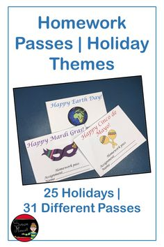 Are you looking for student rewards that won't break your bank AND that your students will love?  The holiday passes will give you a year's worth of rewards that will never expire or cost you any money!  Students love any excuse  not do their homework and getting a pass to do that from a teacher is the icing on the reward!  #studentrewards #homeworkpasses #teacherrewards #schoolrewards #homeworkpassesholidaythemes Fifth Grade, Third Grade, Homework Pass, Holiday Themes, Holiday Activities, Student Rewards, Classroom Management Tips, Teaching Tools, Teaching Ideas