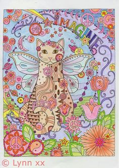From Creative Cats Coloring Book