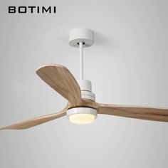 Gallery of botimi new led ceiling fan for living room wooden ceiling fans - wood ceiling fans Wooden Ceiling Fans, Best Ceiling Fans, Wooden Ceilings, Ceiling Fan With Remote, Outdoor Ceiling Fans, Bedroom Light Fixtures, Modern Light Fixtures, High Ceiling Lighting, Ceiling Lights