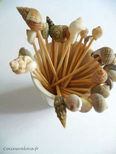 piques olives coquillages ©cocineraloca.fr