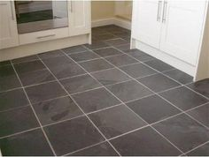 Kitchen Floor Tile- Slate