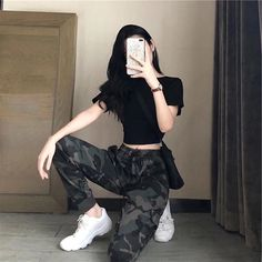 fashion outfits teenage korean for your perfect look this summer. teenage korean Fashion Outfits Teenage korean For Your Perfect Look This Summer Edgy Outfits, Mode Outfits, Cute Casual Outfits, Grunge Outfits, Girl Outfits, Fashion Outfits, Grunge Shoes, Fashion Ideas, Hipster Outfits