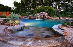 Swimming pool designs and landscaping landscaping for Landscaping rocks dothan al