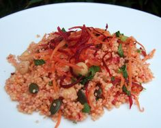 Harissa couscous with beet& carrot - CookTogether