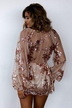 Terrestrial Mini Dress - Copper