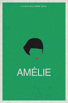 "Minimalist Movie Poster |  ""Amélie"" (2001)"