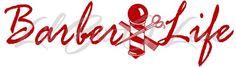Barber Life Vinyl Decal- Hair Stylist, Scissors Comb Barber Pole Car | LilBitOLove - Housewares on ArtFire