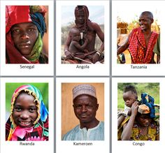 Hi everybody,   Today is International Nelson Mandela day, so this Friday we're looking at the people of Africa.     The people of Africa ar...