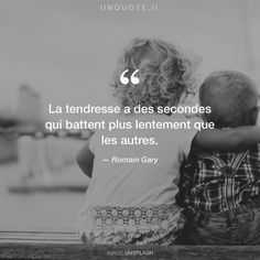 "Romain Gary ""La tendresse a des secondes qui battent plus lentement que les autres."" Photo by Joshua Clay / Unsplash"