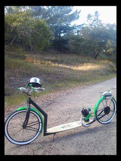 Rat Fink motor scooter