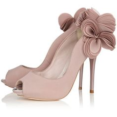 WOW!!! Again, these would be awesome with a tea length dress.