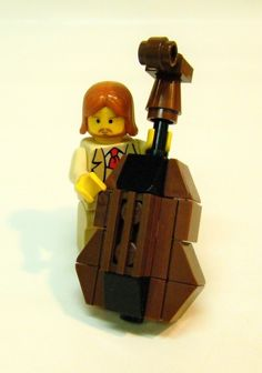 Gift Idea for Jimi: Lego double bass