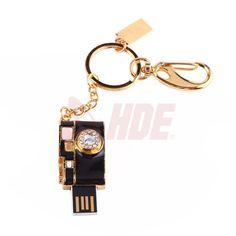 4 GB Black Gold Metal Camera USB 2 0 Flash Memory Stick Pen Drive Key Novelty | eBay