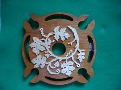 Cherry and Maple Wood Wine Glass Holder | kentskrafts - Woodworking on ArtFire