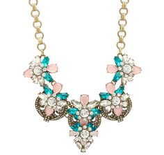"""Joan Rivers Crystal Confection Vintage Style 19"""" Necklace Jewelry Necklaces, Jewellery, Bracelets, Joan Rivers Jewelry, Vintage Style, Vintage Fashion, Vintage Homes, Necklace Online, Crystals"""