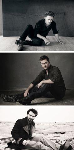 Dean, Richard and Aidan