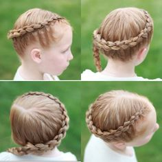"""""""4 strand dutch braid for Hallie today! We love the waves that this braid makes on the second day! I used @tresemme gel to keep all the hair in place! #treseme #4strandbraid #littlegirlhair #longhair #braidphotos #babyhair #ginger #cutegirlhairstyles #hairandstyles #instabraid"""" Photo taken by @hairspirationbykylee on Instagram, pinned via the InstaPin iOS App! http://www.instapinapp.com (04/08/2015)"""