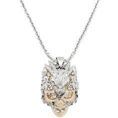 Skull Owlet Pendant