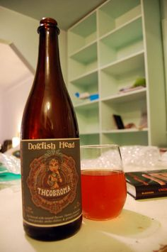 """""""Archaeo-alcohology"""" -- The Dogfish Head's Theobroma beer (a chief ingredient of which is cacao) """"is one of the Delaware brewery's """"liquid time capsules"""": it was created in collaboration with biomolecular archaeologist Patrick McGovern who, according to his University of Pennsylvania webpage, is """"known as the 'Indiana Jones of Ancient Ales, Wines, and Extreme Beverages.'"""" """"  Fascinating article at the click-through."""