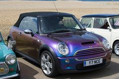 Mad Love for this: 2008 - BMW MINI Cooper S Convertable - Purple *Brighton, England GB