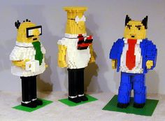 LEGO Dilbert and the gang