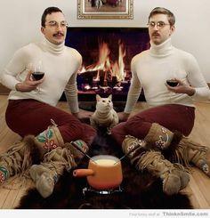 Disturbing Christmas Card