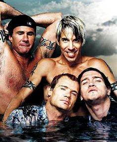 """""""The Red Hot Chili Peppers are an American alternative rock band formed in Los Angeles in 1983. The group's musical style primarily consists of rock with an emphasis on funk, as well as elements from other genres such as punk rock, hip hop, and psychedelic rock."""" - Wikipedia.org"""