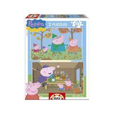 15624 - Puzzle Peppa Pig, 2 x 20 piezas, Educa.  http://sinpuzzle.com/puzzles-infantiles-20-piezas/1282-15624-puzzle-peppa-pig-2-x-20-piezas-educa.html