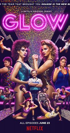 Created by Liz Flahive, Carly Mensch.  With Alison Brie, Marc Maron, Betty Gilpin, Sydelle Noel. A look at the personal and professional lives of a group of women who perform for a wrestling organization in Los Angeles.
