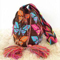Wayuu Mochila bag butterfly