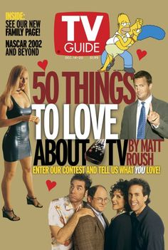 50 Things To Love About TV - 2002 - TV GUIDE