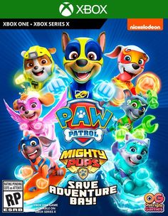 Buy PAW Patrol Mighty Pups Save Adventure Bay! by Outright Games for Xbox One at GameStop. Find release dates, customer reviews, previews, and more. Games For Playstation 4, Xbox One Games, Ps4 Games, Gadgets, Snowboarding Resorts, Nickelodeon, Geek Squad, The Great, Mini Games