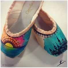 Energetiks Collector Pointe Shoes by Elly Ford (@ artelf) | Energetiks