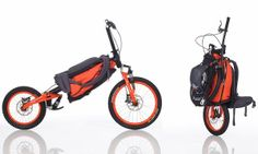 Backpack Bicycle by Bergm�nch