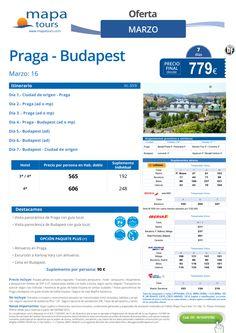 Praga - Budapest Marzo **Precio final desde 779** ultimo minuto - http://zocotours.com/praga-budapest-marzo-precio-final-desde-779-ultimo-minuto/