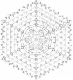 LINDEVROUWSWEB: GRAFIEKEN VAN HAAKPATRONEN blanket crochet pattern home