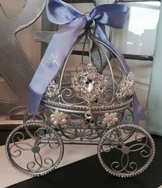Inspired by Disney's Fairytale Wedding by CinderellasFairyTale Cinderella Crafts, Cinderella Sweet 16, Cinderella Theme, Cinderella Wedding, Fairytale Weddings, Cinderella Coach, Princess Fairytale, Disney Weddings, Princess Wedding